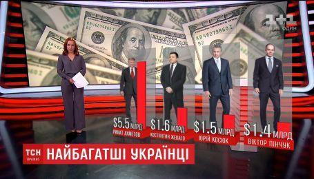 В мировой список Forbes попали 7 украинцев