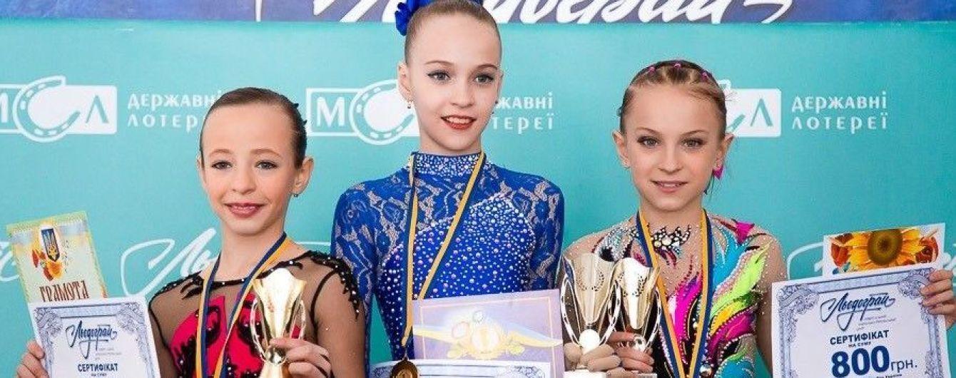 """Вихованці УНТЦ """"Льодограй"""" посідають перші місця на всеукраїнських змаганнях"""