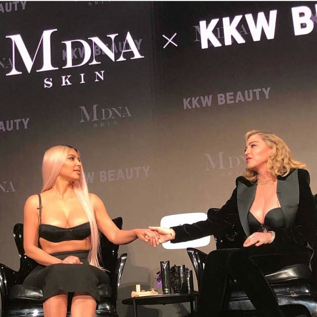 Мадонна и Ким Кардашьян_3
