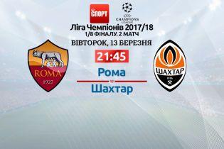 Рома - Шахтар - 1:0. Онлайн-трансляція матчу Ліги чемпіонів