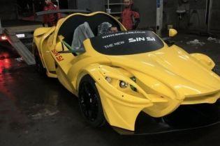 В Женеве презентовали концептуальный автомобиль-конструктор Sin S1