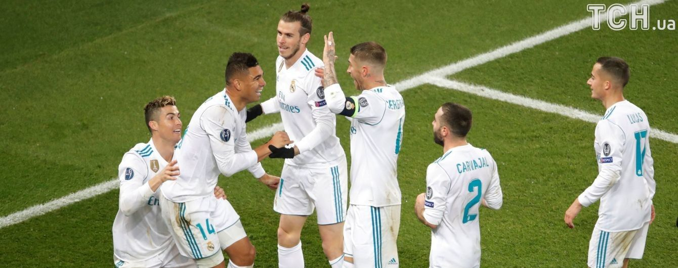 """Неистовая радость Роналду и искренние поздравления Зидана: как """"Реал"""" отпраздновал победу в игре Лиги чемпионов"""