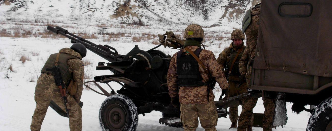 Боевики перемирие не соблюдают – ранили украинского бойца