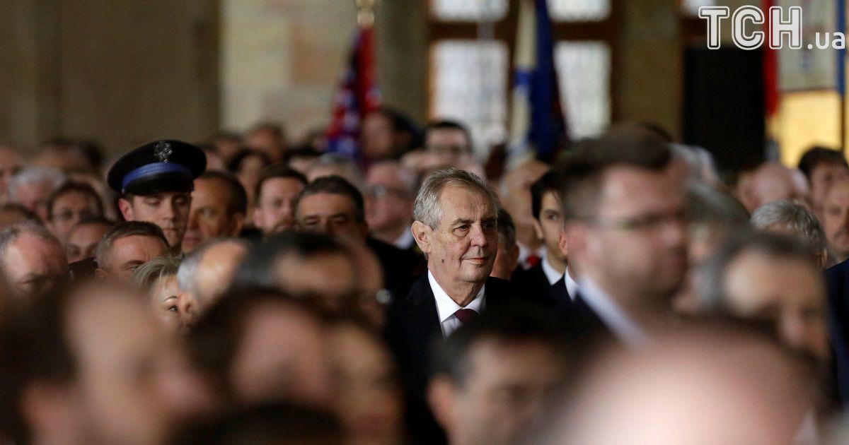 В Чехии состоялась инаугурация нового-старого президента Земана, который является сторонником Путина