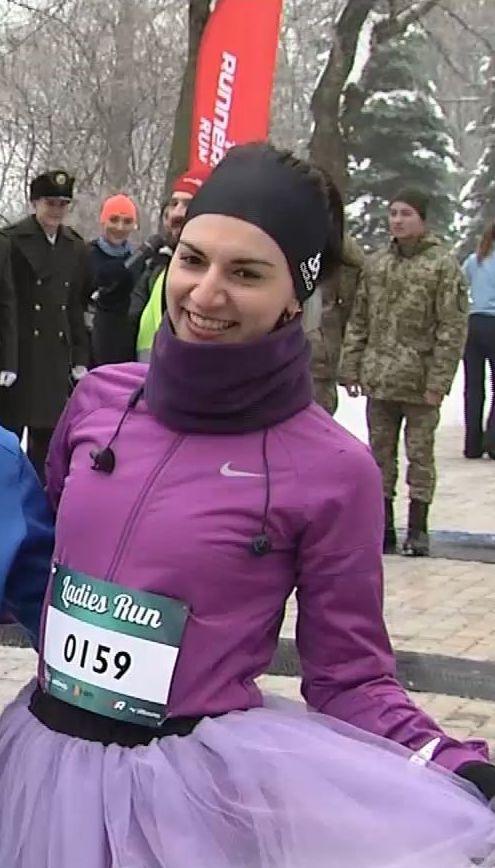 В Киеве состоялся третий ежегодный забег женщин