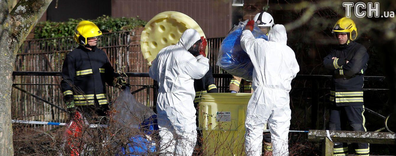 Новый инцидент в Великобритании: два человека пострадали от неизвестного вещества недалеко от Солсбери