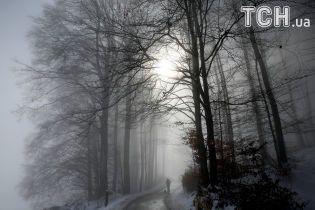 Мокрий сніг та потепління. Якою буде погода 8 грудня