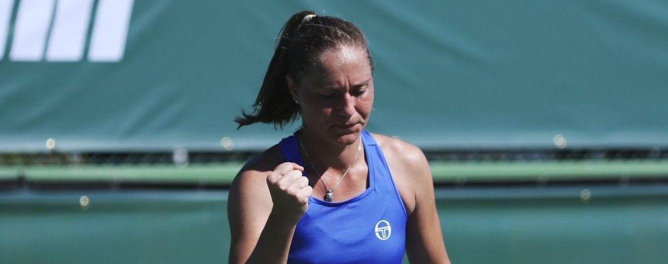 Теннисистка Бондаренко выиграла украинское дерби в Индиан-Уэллсе