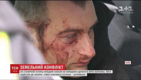 Семеро затриманих і побитий нардеп: жителі столичної Татарки протестують проти забудови