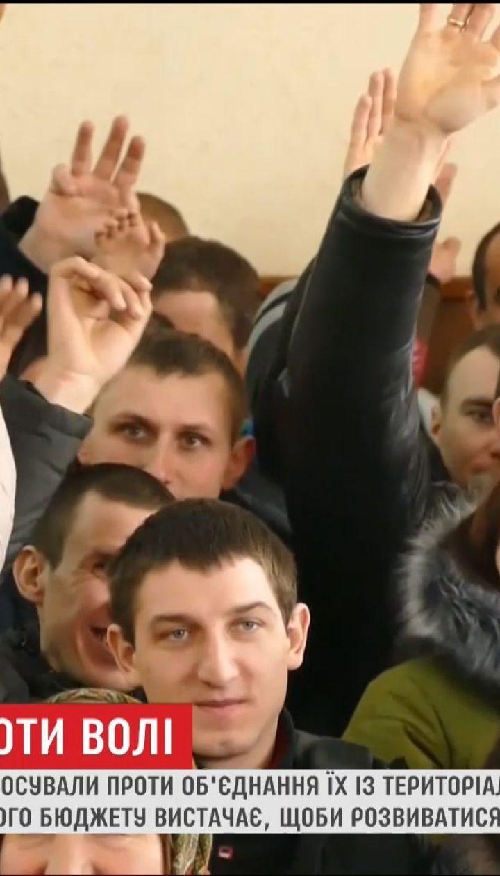 На Волыни село противостоит против объединения с другими
