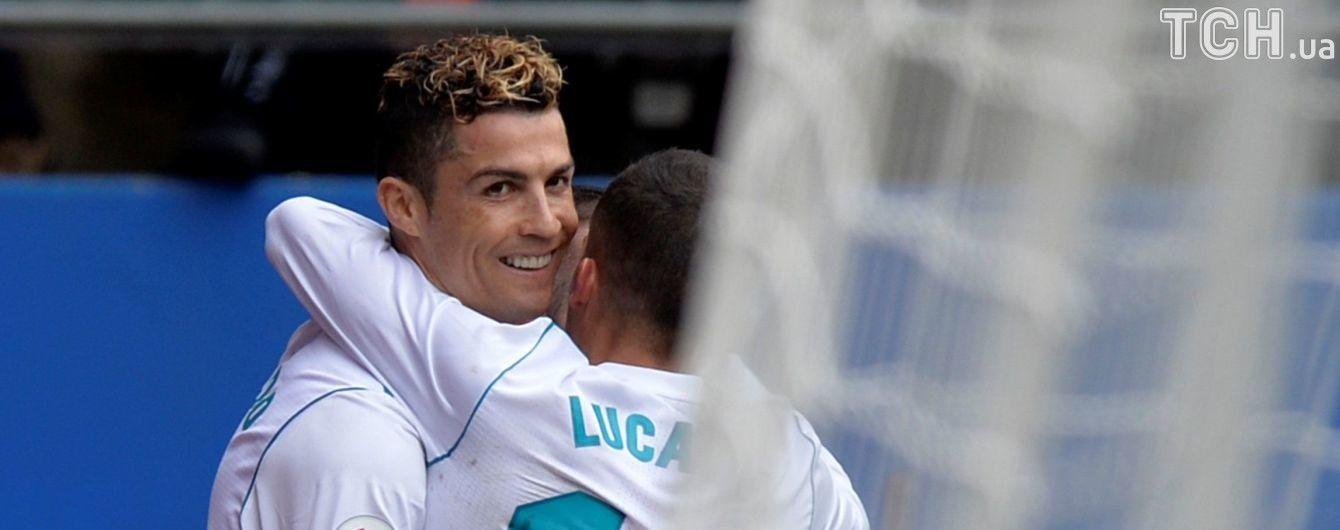 """Реал"" одержал победу над ""Эйбаром"" благодаря дублю Роналду"
