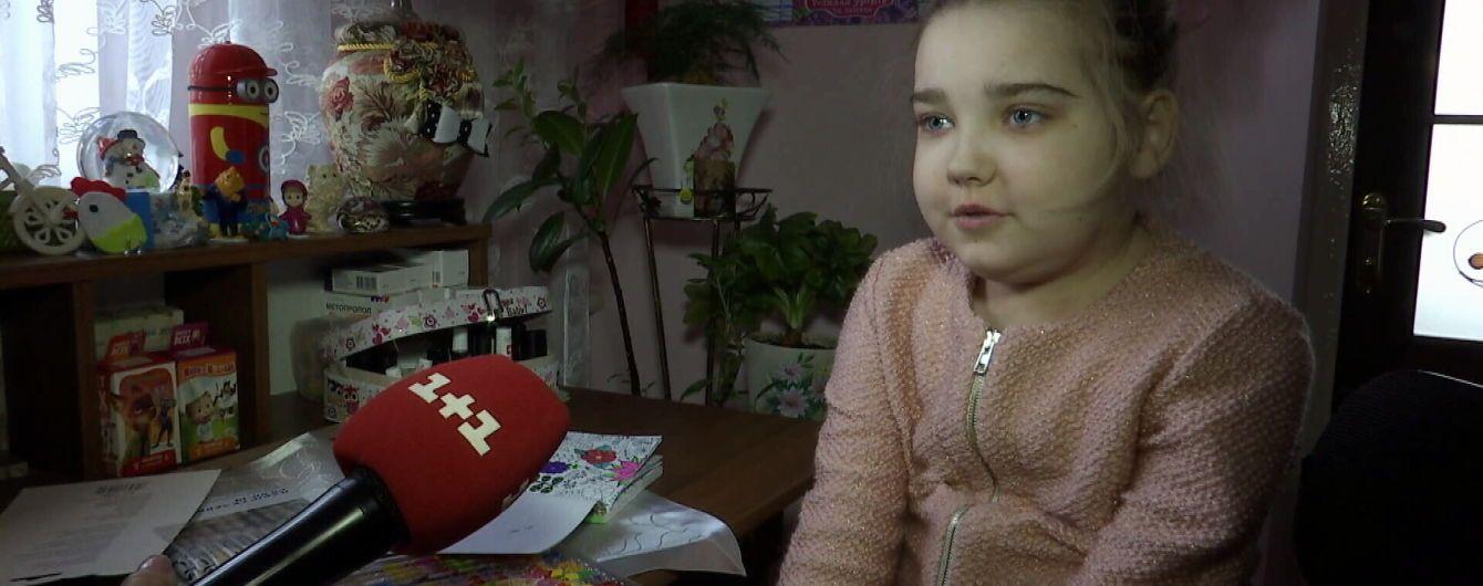 В помощи украинцев нуждается больная Оля из Волыни