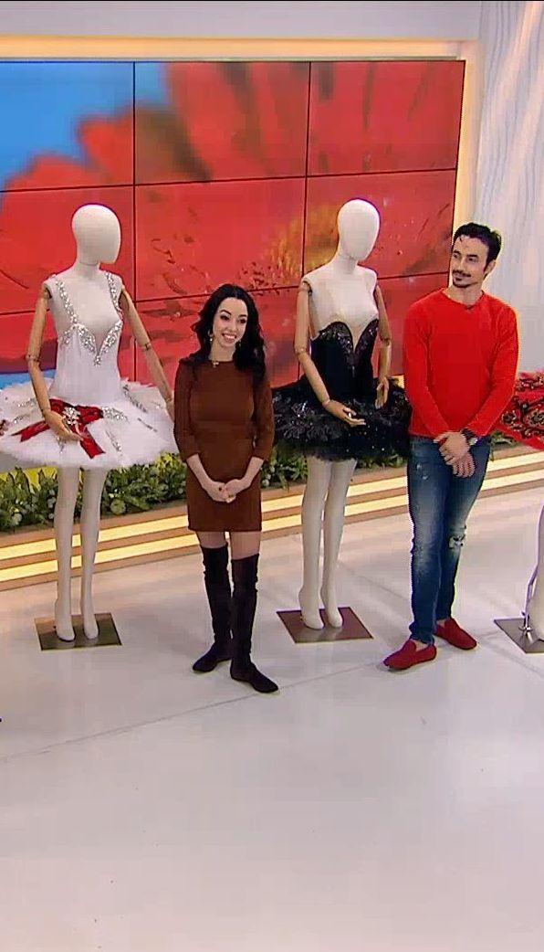 Артисты балета Екатерина Кухар и Александр Стоянов рассказали интересные факты о балетных пачках