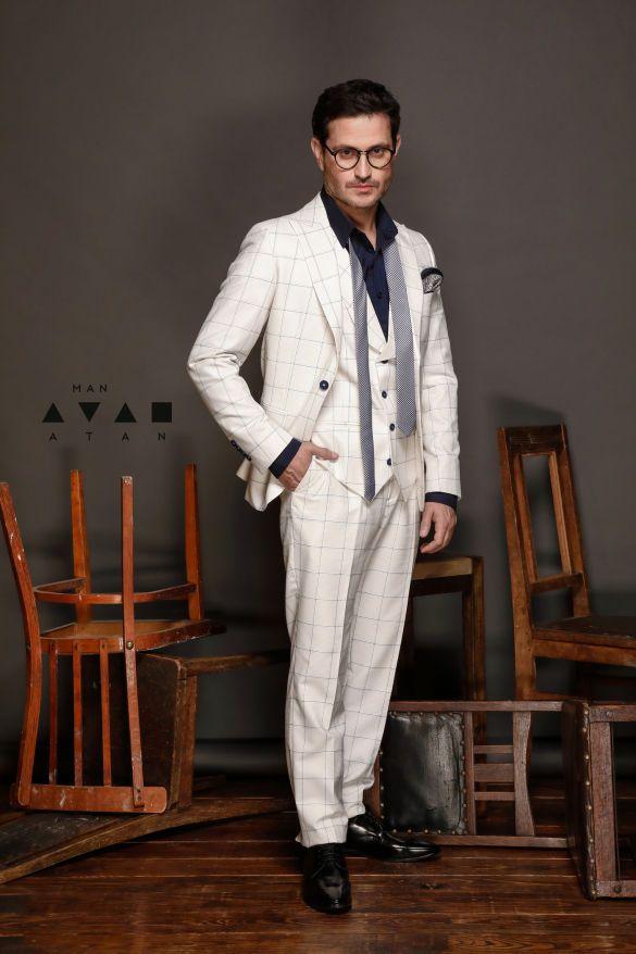 Ахтем Сейтаблаев в лукбуке мужской коллекции Andre Tan_9