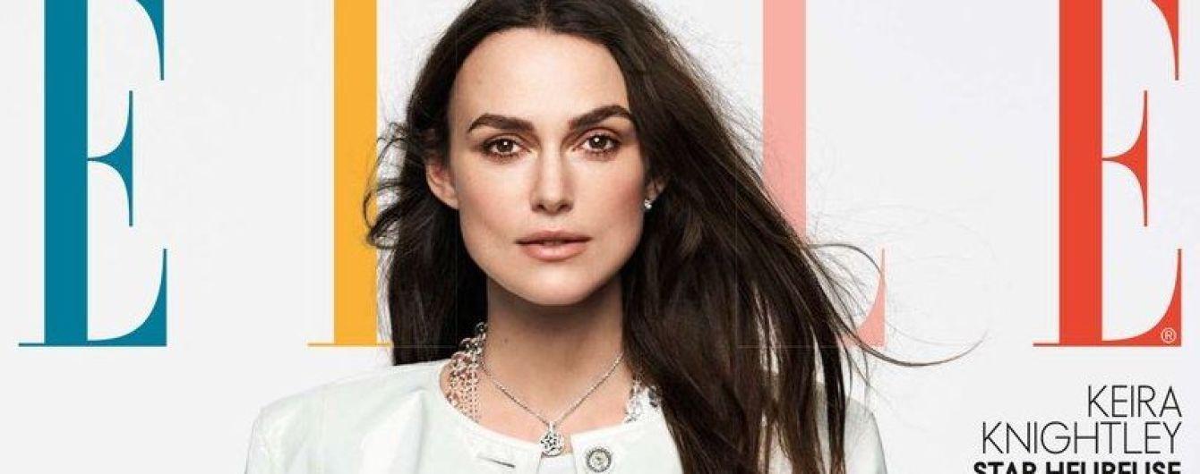 С ног до головы в Chanel: Кира Найтли блистает на обложке глянца
