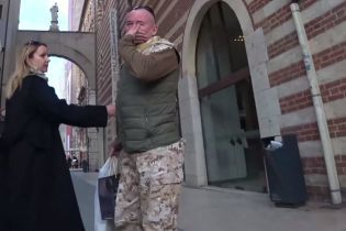 Украинский десантник-блогер Ананьев опубликовал видео стычки с пропагандистом Кремля Шейниным