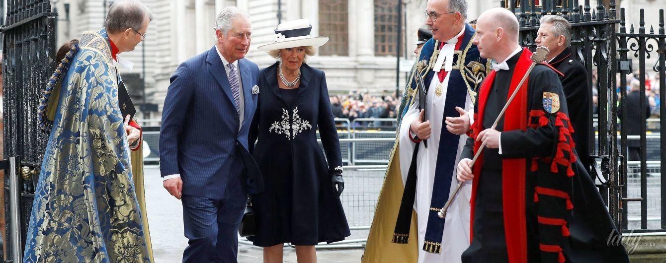 Повторила образ: герцогиня Корнуольская Камилла на службе в Вестминстерском аббатстве