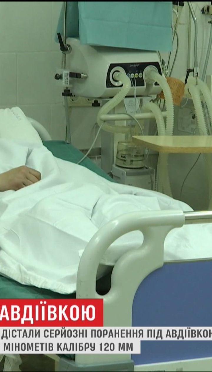 Вражеский снаряд задел двух украинских бойцов под Авдеевкой