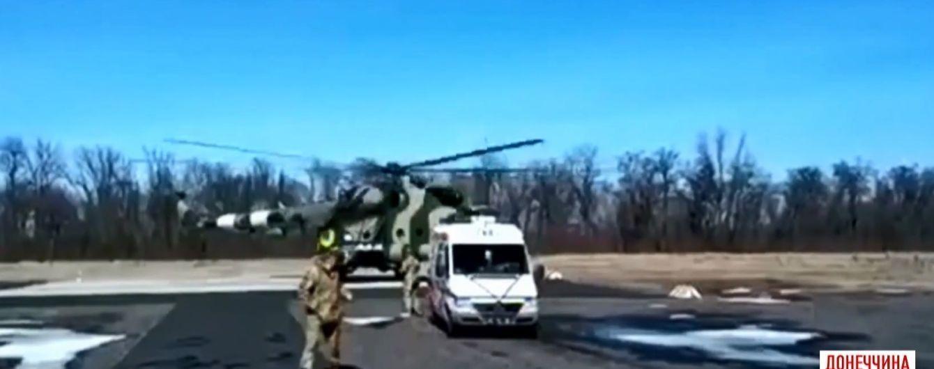 Раненых во время минометного обстрела защитников Авдеевки спасают в Харькове