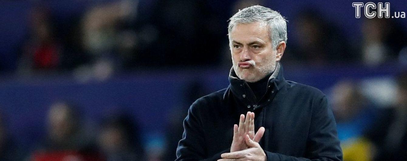 """Моурінью прокоментував виліт із Ліги чемпіонів: Для """"Манчестер Юнайтед"""" нічого нового не сталося"""