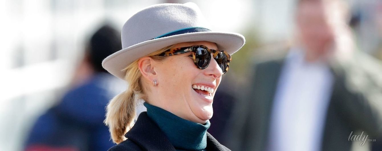 Беременность не помеха: дочь принцессы Анны - Зара Тиндолл, вышла в свет на высоких каблуках