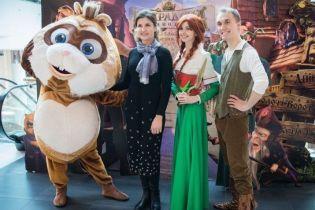 Марина Порошенко в женственном образе сходила на показ анимационного фильма