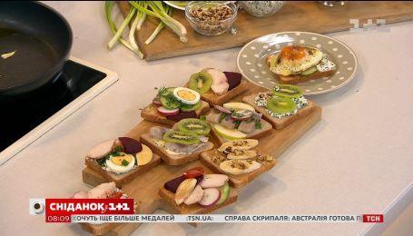 """Поклонникам лорда Сэндвича: готовим бутерброды в студии """"Сніданка"""""""