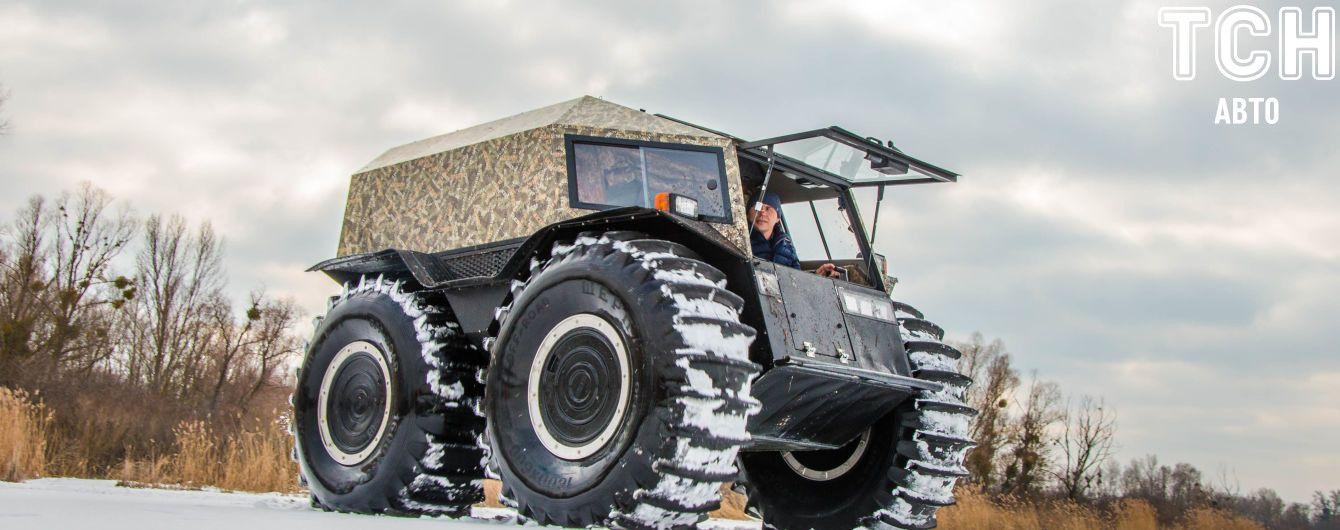 В Турции представили украинский супервездеход Sherp