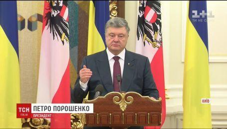 Порошенко прокомментировал визит Путина в Симферополь и Севастополь