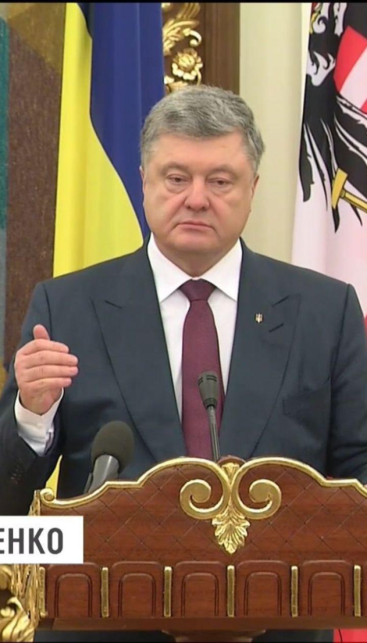 Порошенко прокоментував візит Путіна до Сімферополя та Севастополя