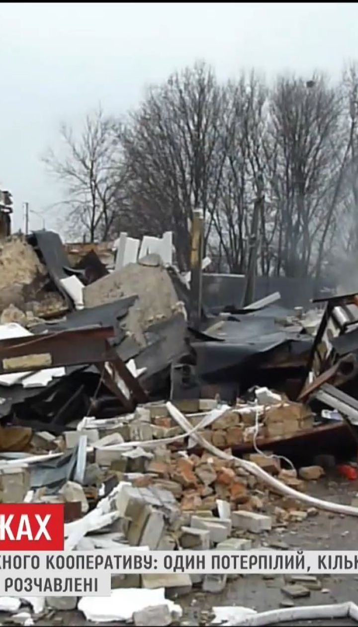 В Олександрії стався вибух у боксах станції техобслуговування