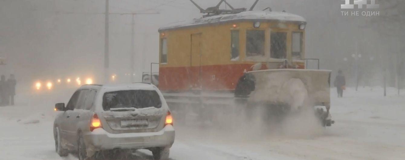 Останній штормовий удар зими: наприкінці тижня два циклони завалять Україну снігом