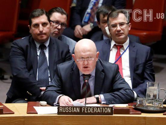 """""""Русофобські фантазії"""": Росія в Радбезі ООН зв'язала справу Скрипалів з інсценуванням хіматаки у Сирії"""