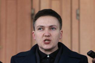 Савченко заявила о начале сухой голодовки