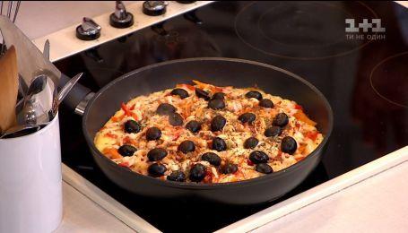 """Дівчина з неймовірною історією схуднення знову в """"Сніданку"""" - дієтична піца від Тетяни Довгаленко"""