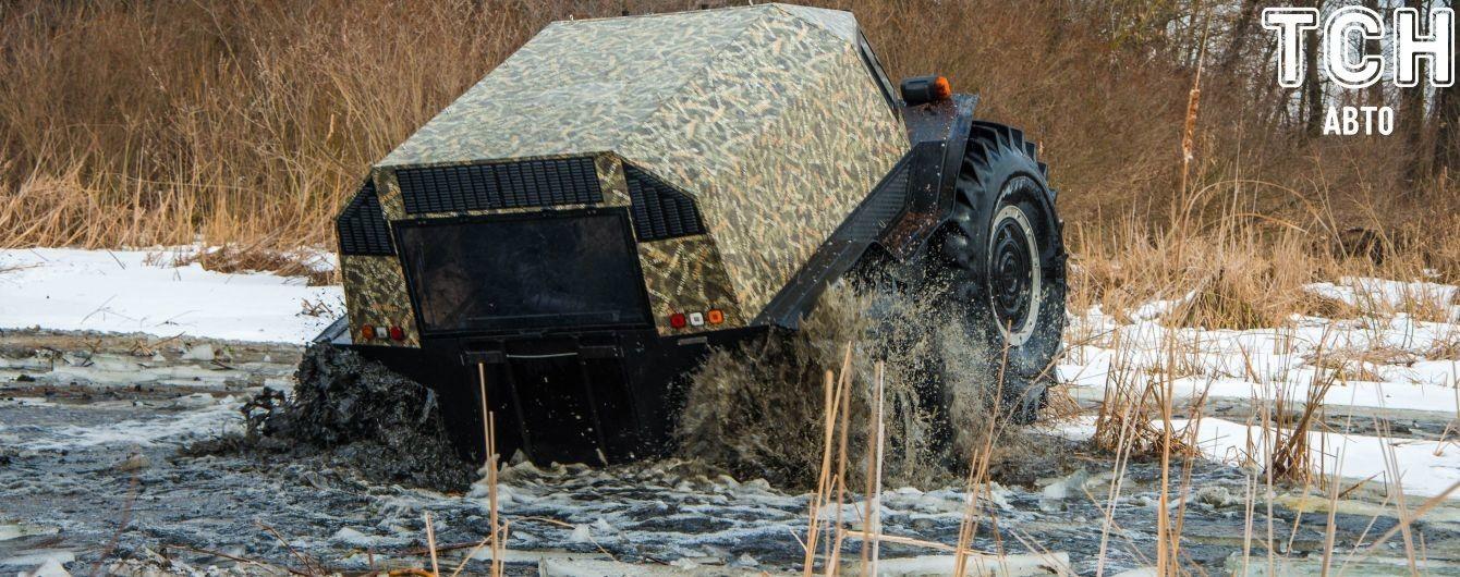 В Техасе нашли способ посадить в грязи  супервездеход Sherp Pro