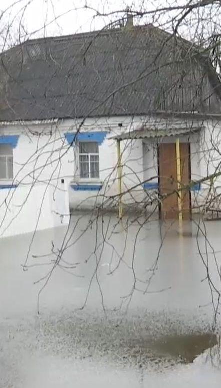 Киевщина страдает из-за весеннего наводнения
