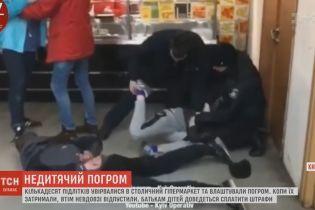 В подстрекательстве к кражам в столичном супермаркете подростки обвиняют охрану магазина