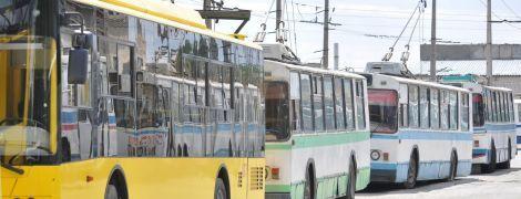 Транспортний страйк у Черкасах призвів до здорожчання проїзду в тролейбусах