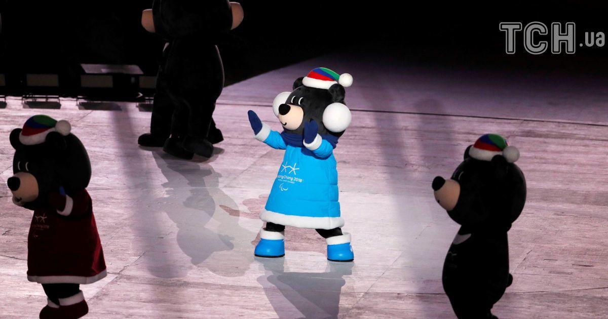 Церемонія закриття Паралімпійських ігор у Пхенчхані. @ Reuters