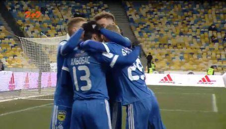 Динамо - Ворскла - 4:0. Відео голу Хльобаса