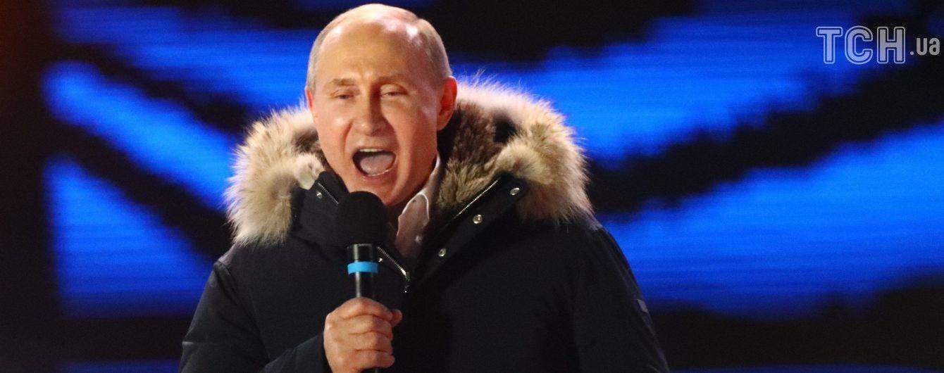 Пресс-служба Путина сообщила о поздравлениях от Макрона, в Париже об этом ни слова