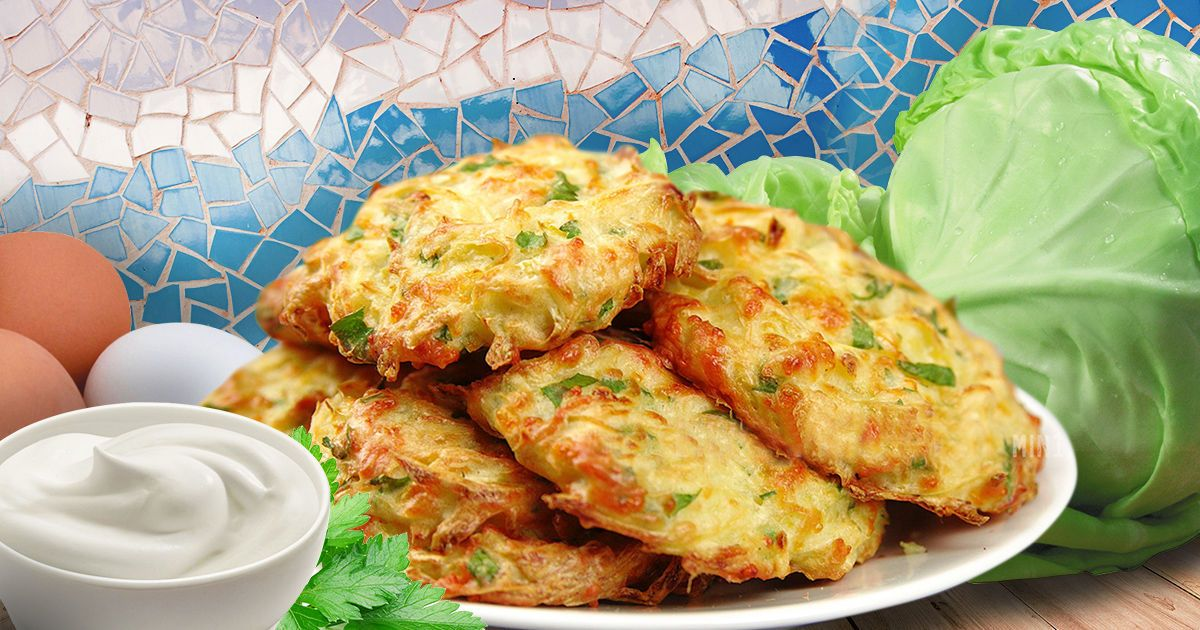 Оладьи из капусты — просто и необыкновенно вкусно