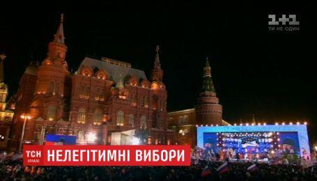 На Красной площади громким действом отметили годовщину аннексии Крыма