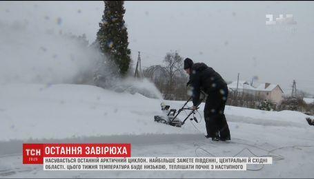 На Украину надвигается последний арктический циклон