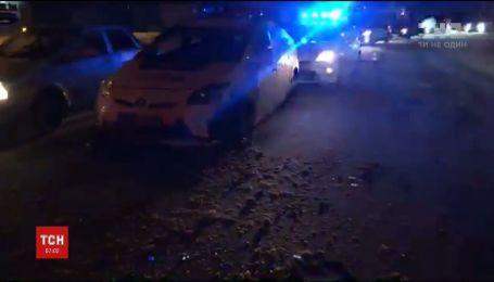 В Харькове пьяный водитель, убегая от полиции, спровоцировал масштабное ДТП