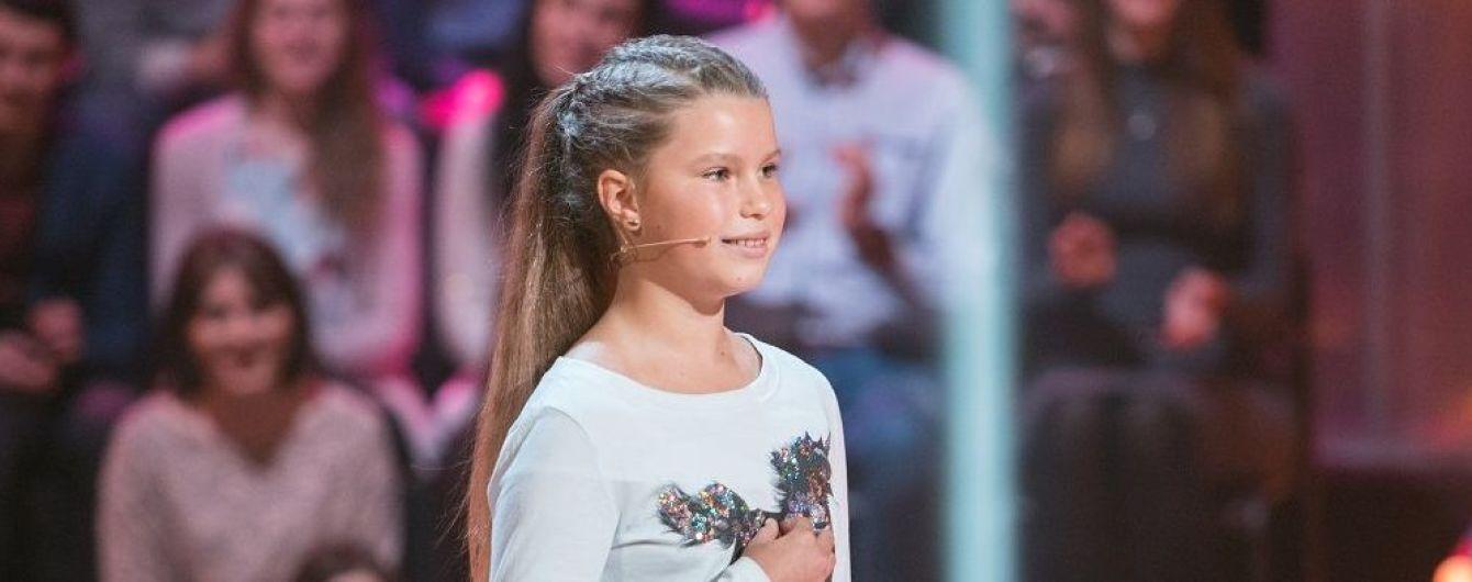 """Дочь ведущей """"ТСН"""" Лидии Таран выиграла 50 тысяч гривен в шоу """"Рассмеши комика. Дети"""""""