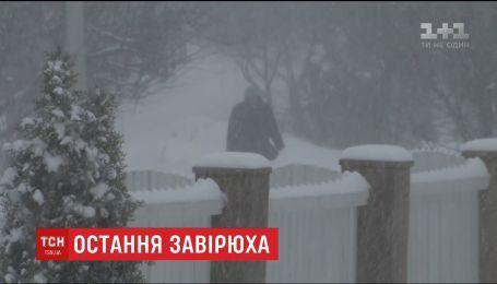 Украинцам к теплой весне осталось пережить последний циклон