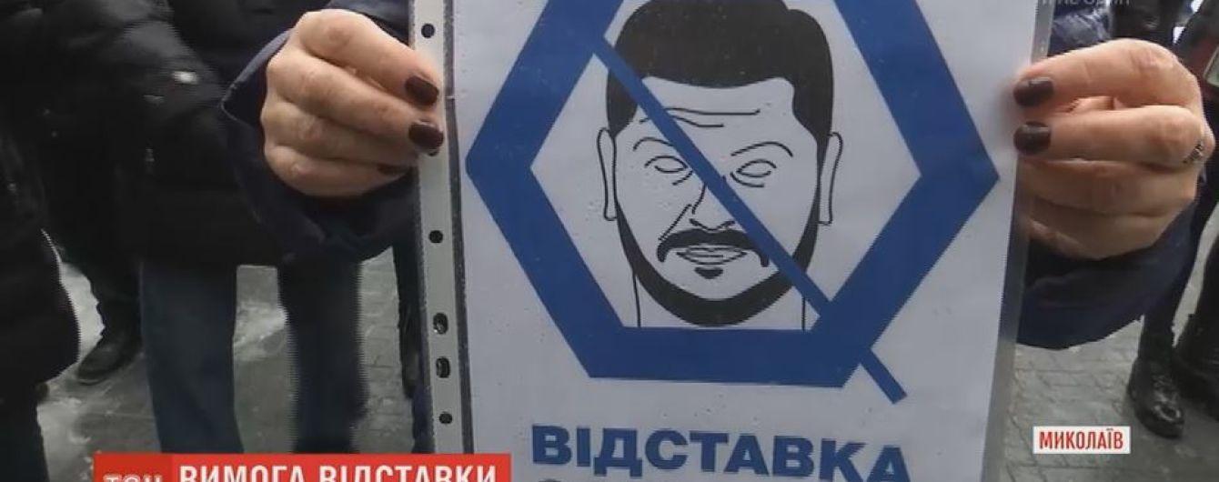 За смерть летчика Волошина активисты требуют увольнения главы Николаевской области