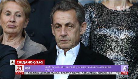 Во Франции задержали бывшего президента Николя Саркози